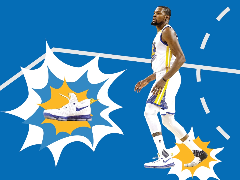 3b3db5dc5096 Why Kevin Durant s Shoes Keep Falling Off