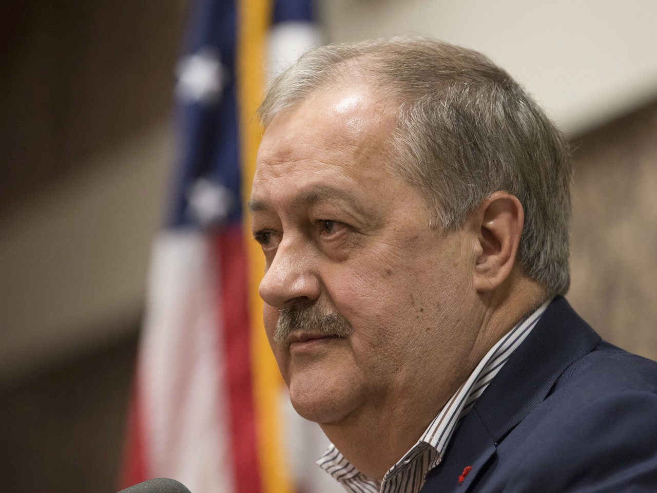 Trump tells West Virginia Republicans Blankenship can not  win Senate race