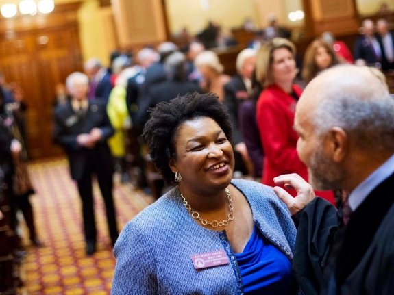 Can Stacey Abrams Really Turn Georgia Blue?