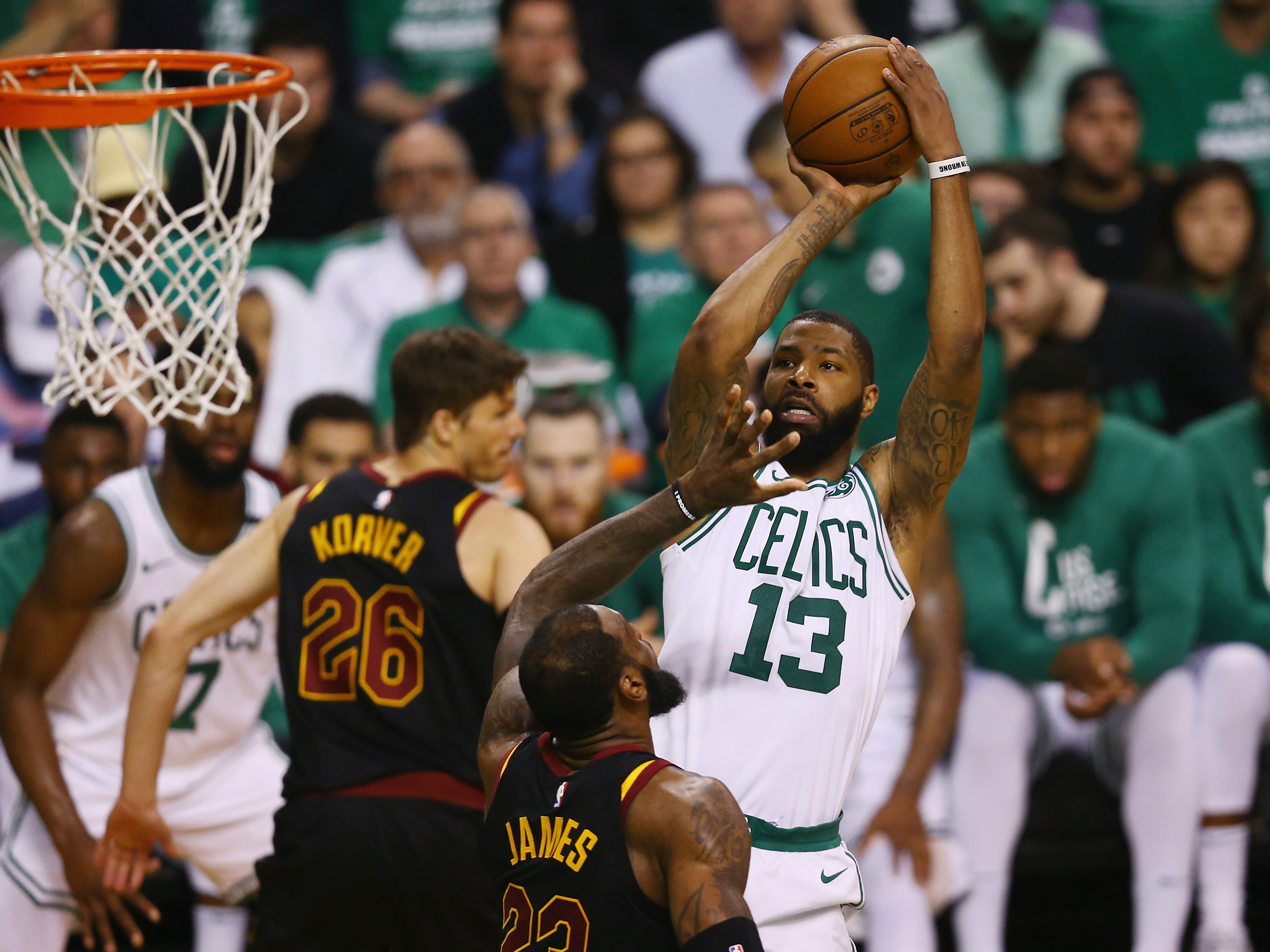 Cleveland Cavaliers v Boston Celtics – Game Five