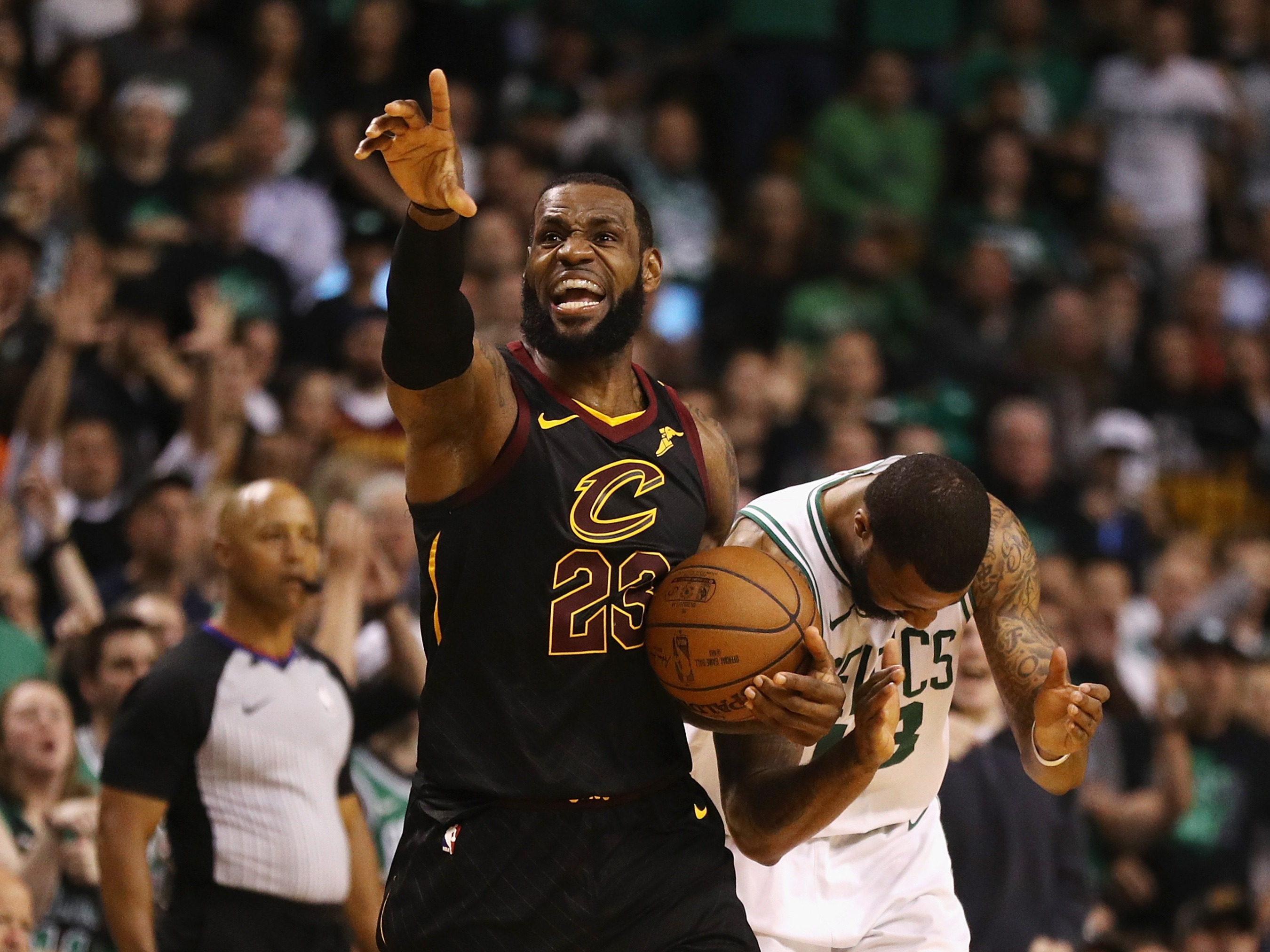 1fad31d09577 This Eastern Conference Crown Is Truly LeBron s Masterpiece ...