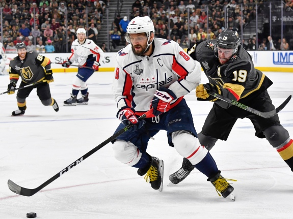 Washington Capitals v Vegas Golden Knights – Game One
