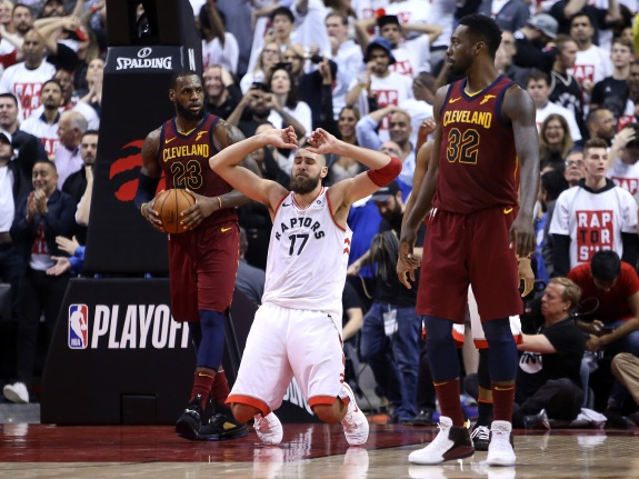 Cleveland Cavaliers v Toronto Raptors – Game One