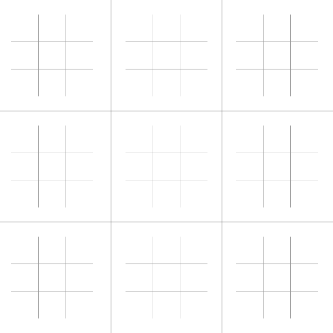 Trump Isn't Playing 3D Chess — He's Playing Ultimate Tic-Tac-Toe