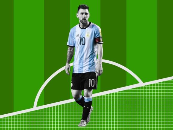 00bcb03cdbb Messi Walks Better Than Most Players Run