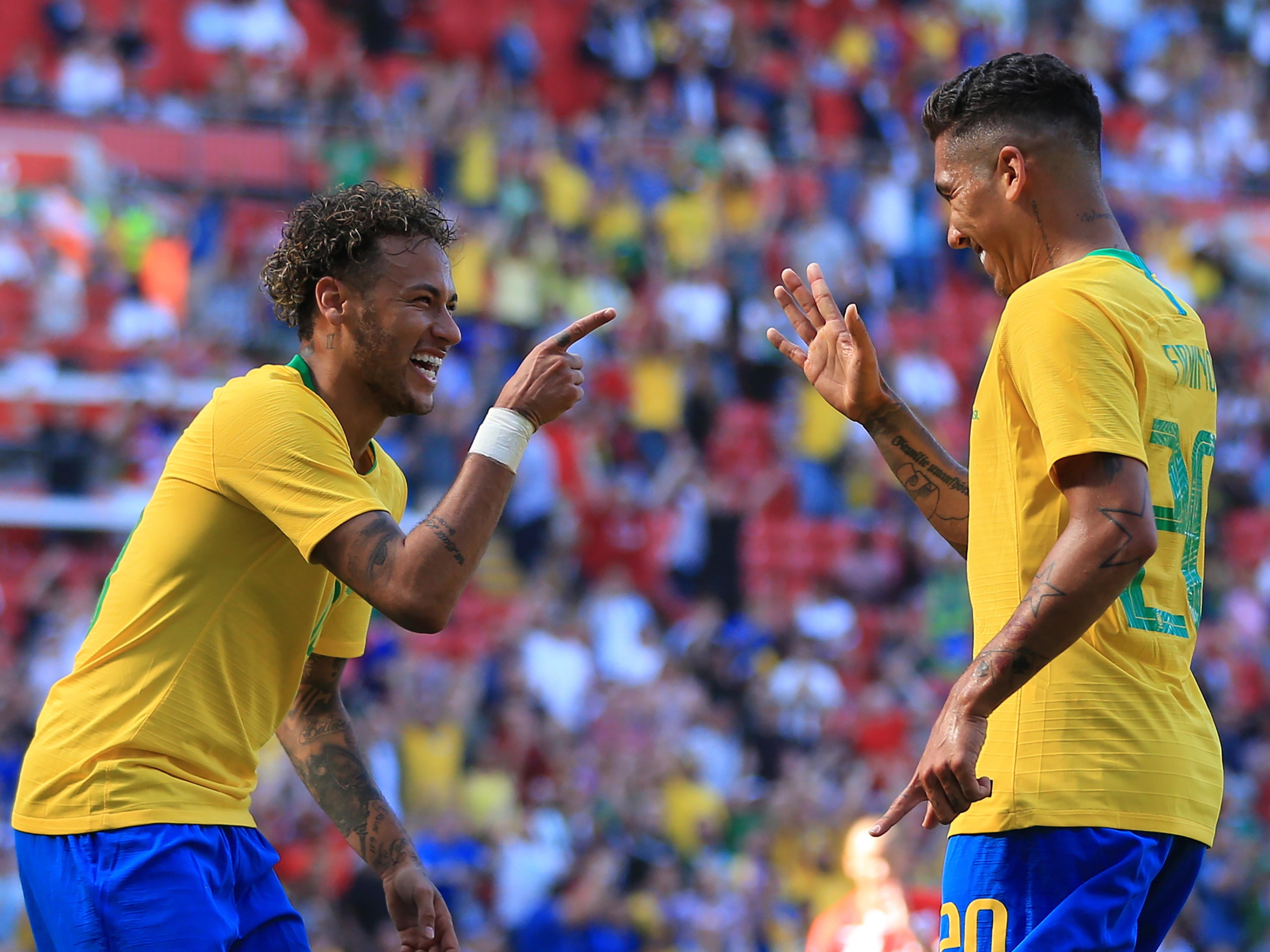 2018 International Football Friendly Brazil v Croatia Jun 3rd