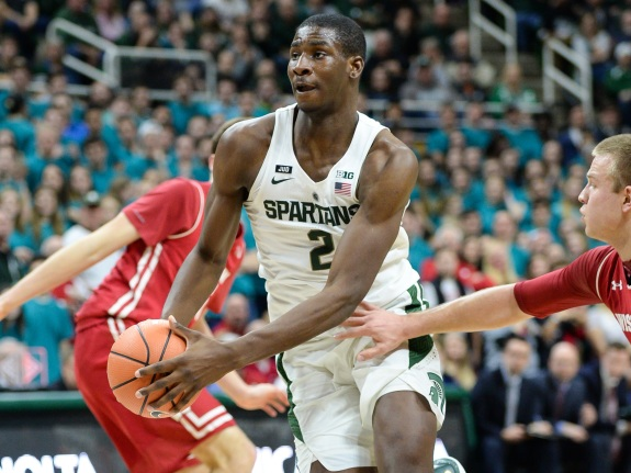 COLLEGE BASKETBALL: JAN 26 Wisconsin at Michigan State