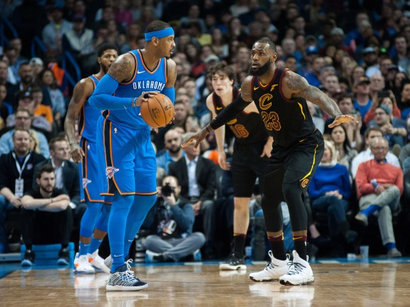 NBA: FEB 13 Cavaliers at Thunder