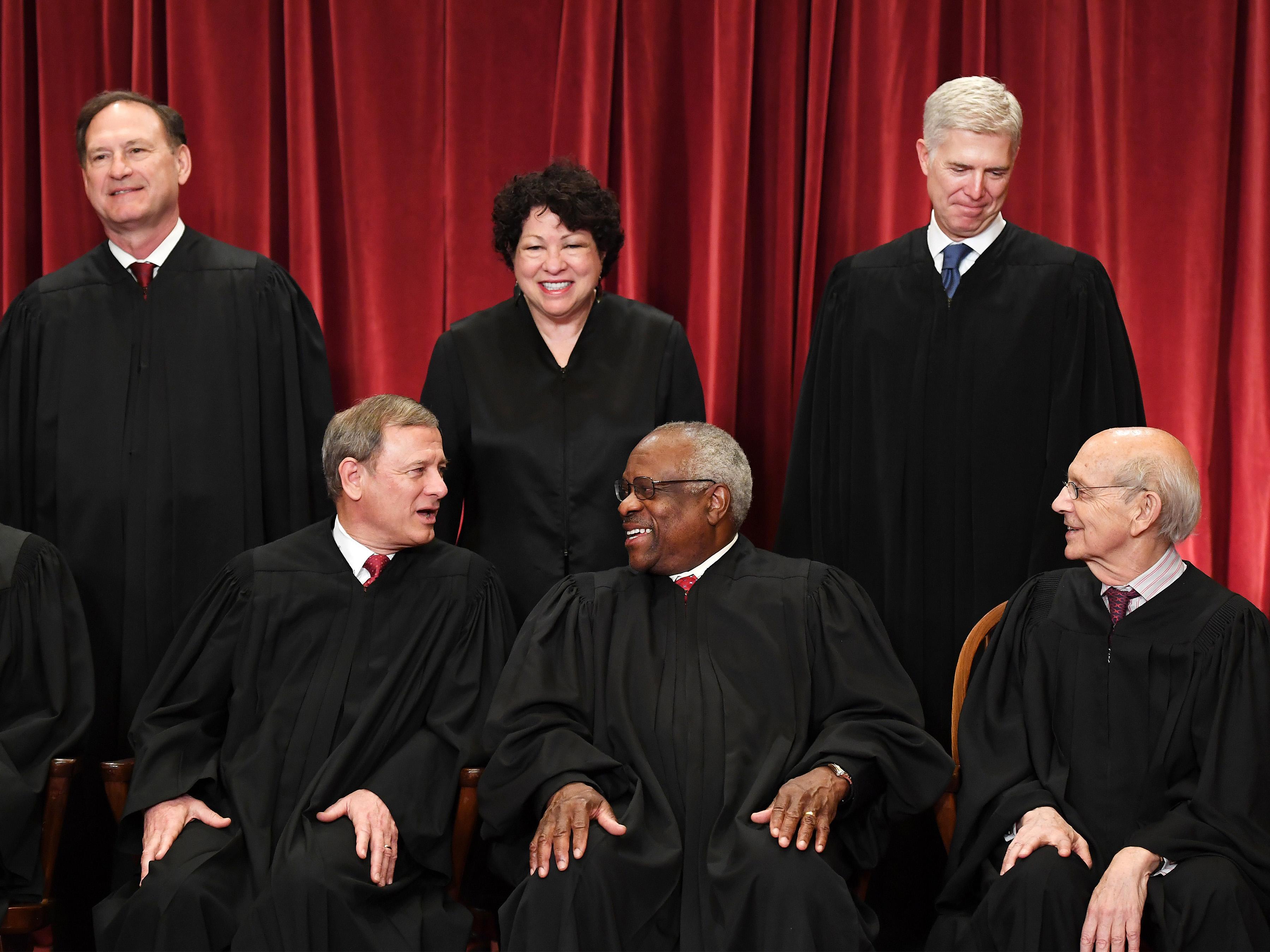 U.S. Supreme Court portrait – Washington, DC