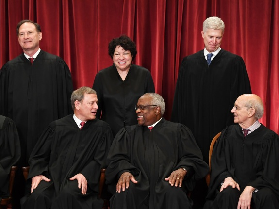 U.S. Supreme Court portrait – Washington, DC