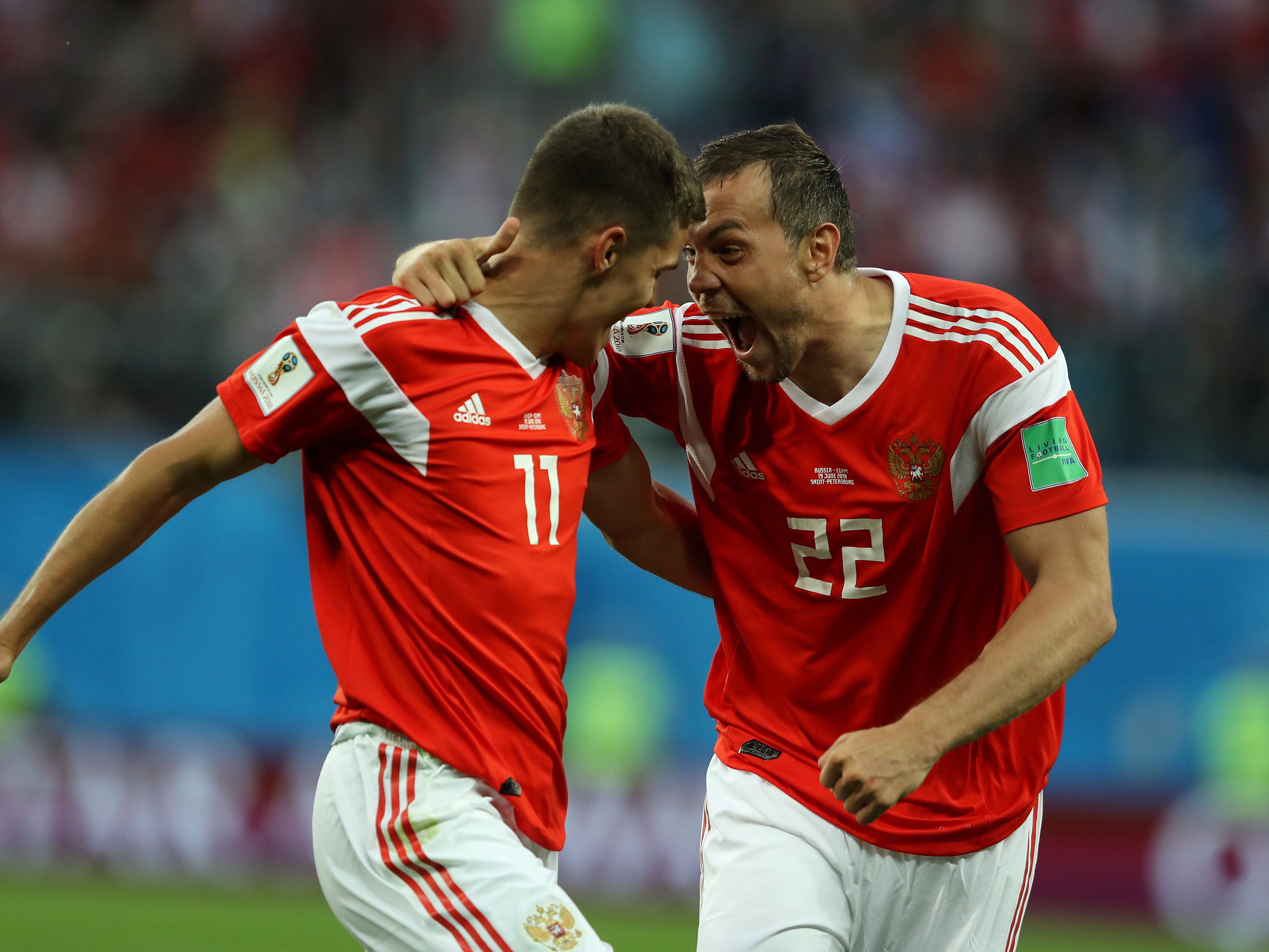 Russia v Egypt: Group A – 2018 FIFA World Cup Russia