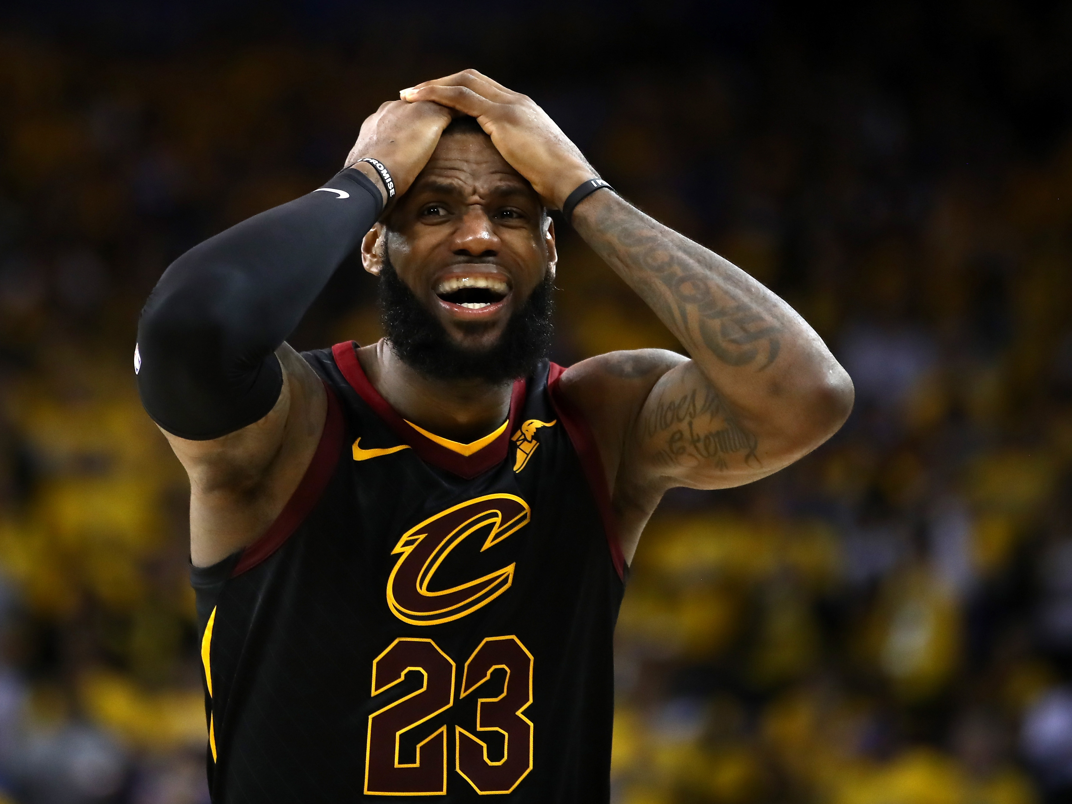 Everything Was Strange About Game 1 — Except The JR Smith Gaffe | FiveThirtyEight