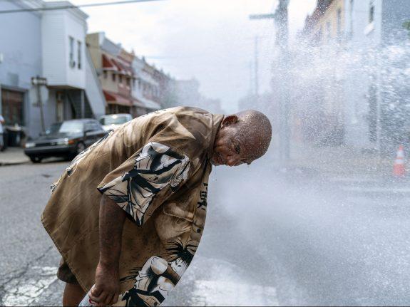 Philadelphia Swelters Amid East Coast Heatwave