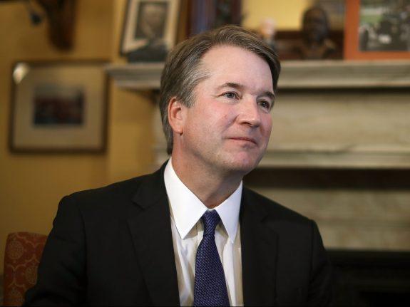 U.S. Supreme Court Nominee Brett Kavanaugh Meets With GOP Senators On Capitol Hill