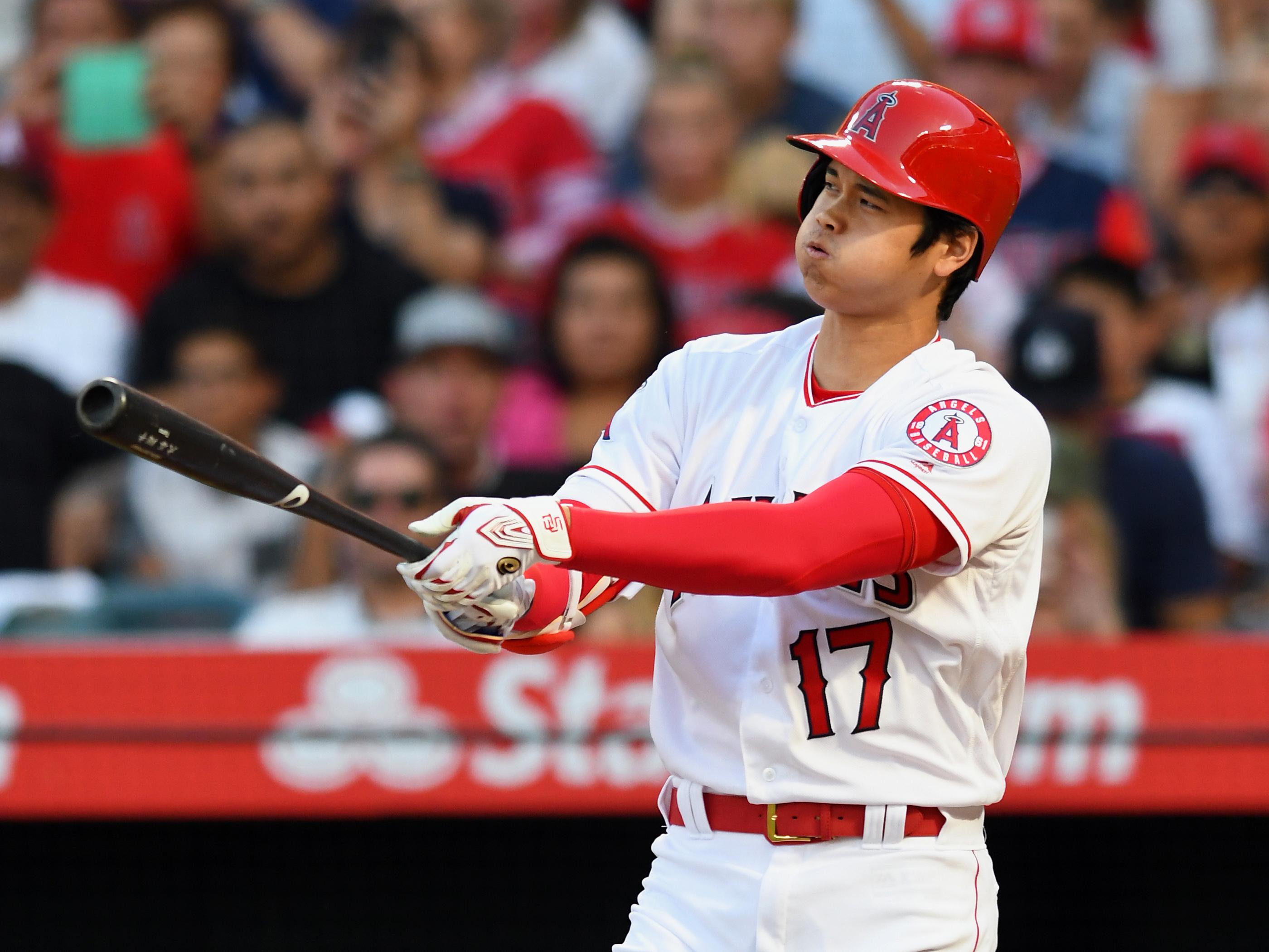 MLB: JUL 10 Mariners at Angels