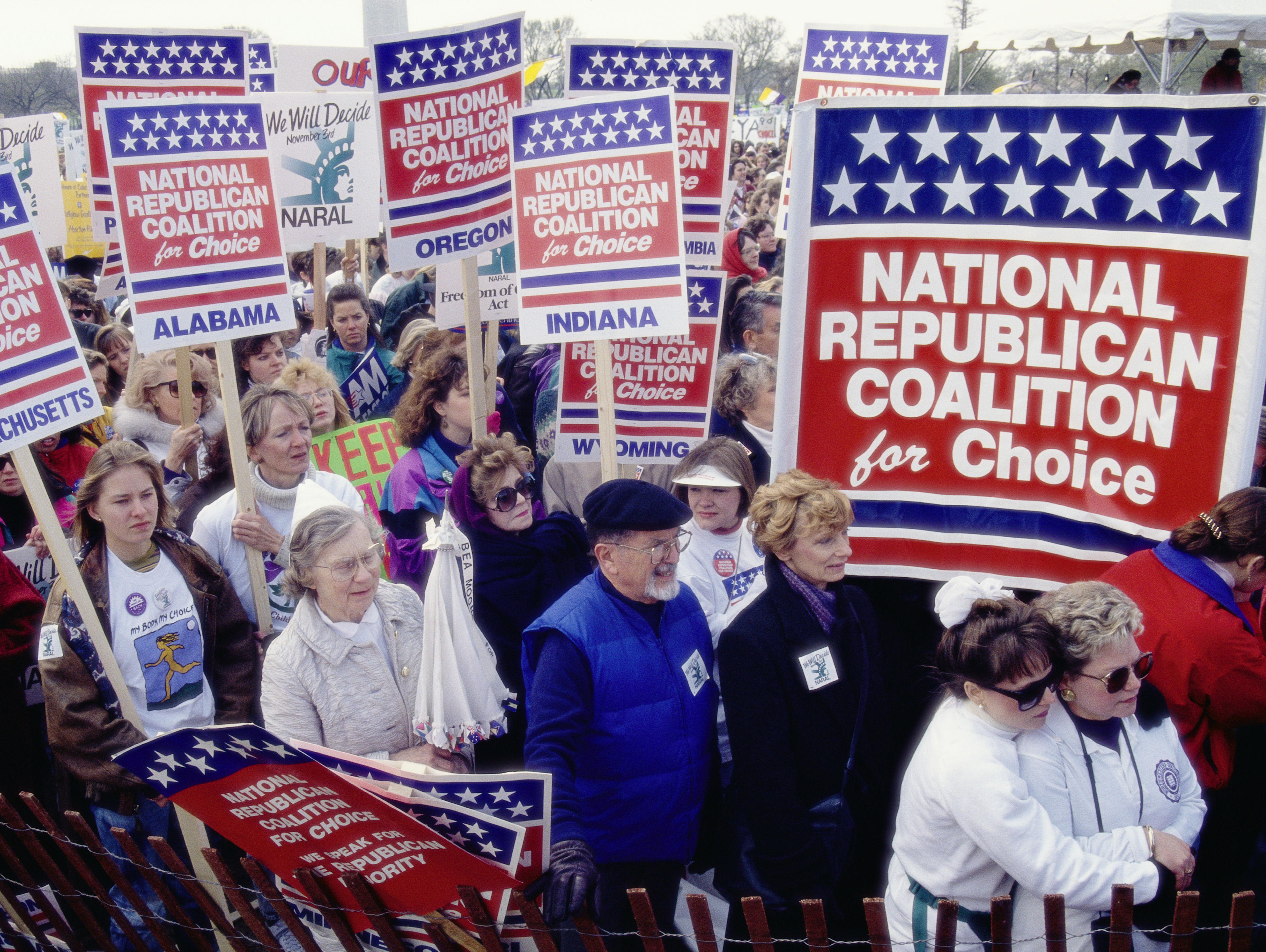 National Republican Coalition for Choice Demonstration