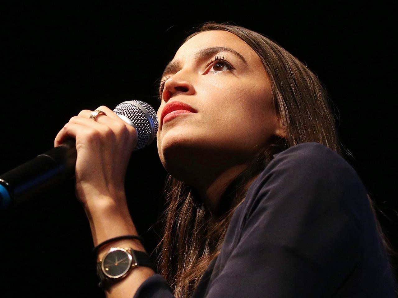 NY House Candidate Alexandria Ocasio-Cortez Joins Progressive Fundraiser In LA