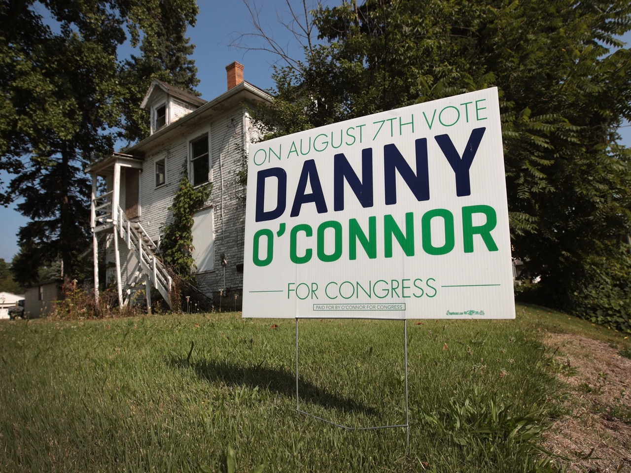 Democratic Congressional Candidate Danny O'Connor Campaigns Before OH Special Election