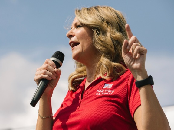 Senate Candidate Kelli Ward 'Road To Victory' Campaign Tour