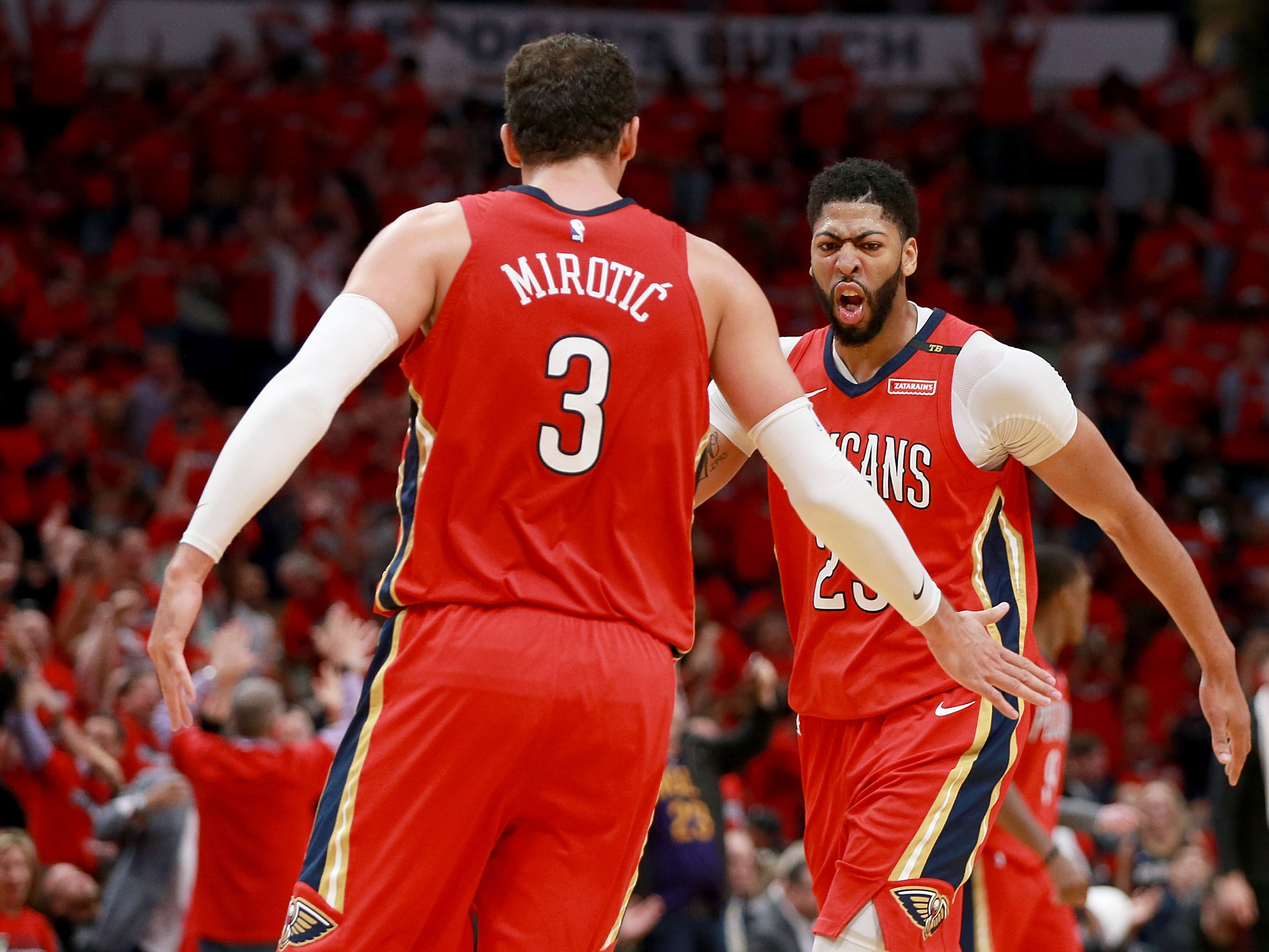 Portland Trail Blazers v New Orleans Pelicans – Game Three