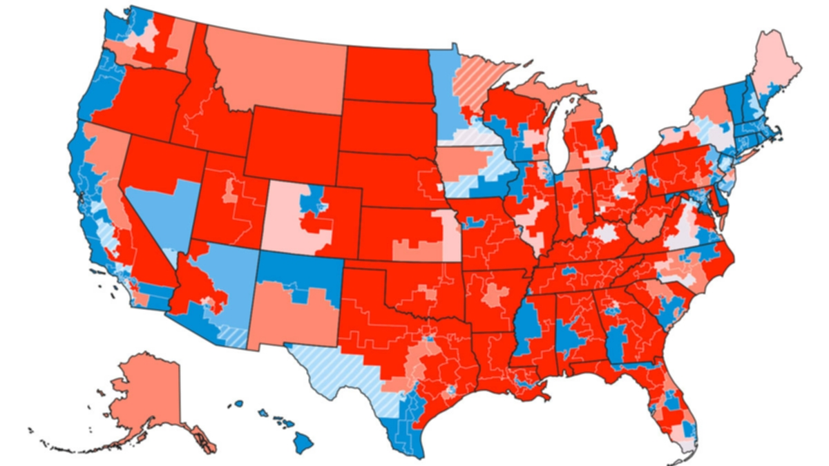 Senators By State Map.Tracking Congress In The Age Of Trump Fivethirtyeight