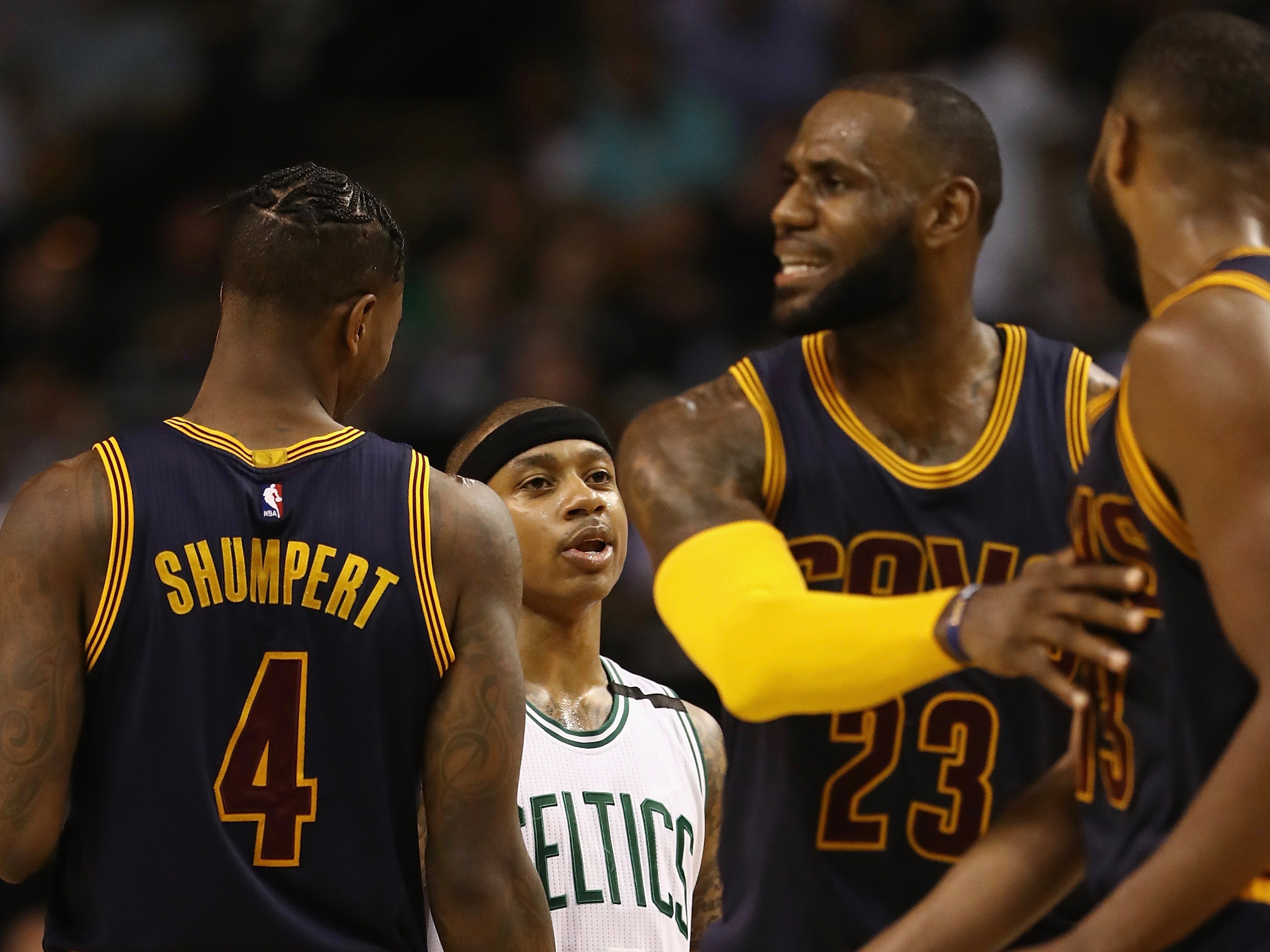 Cleveland Cavaliers v Boston Celtics – Game One