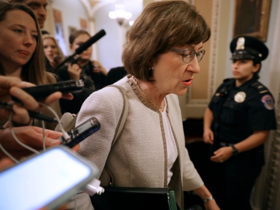 Members Of Congress Return To Capitol Hill Amidst New Kavanaugh Accusations