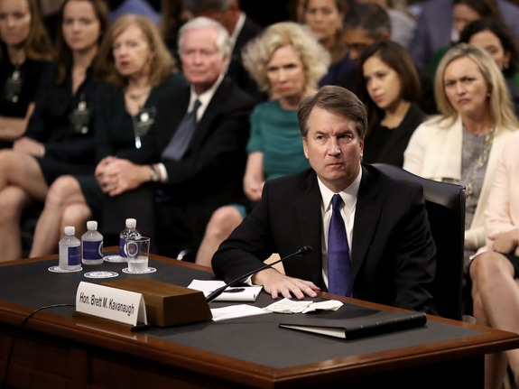 Senate Holds Confirmation Hearing For Brett Kavanugh To Be Supreme Court Justice
