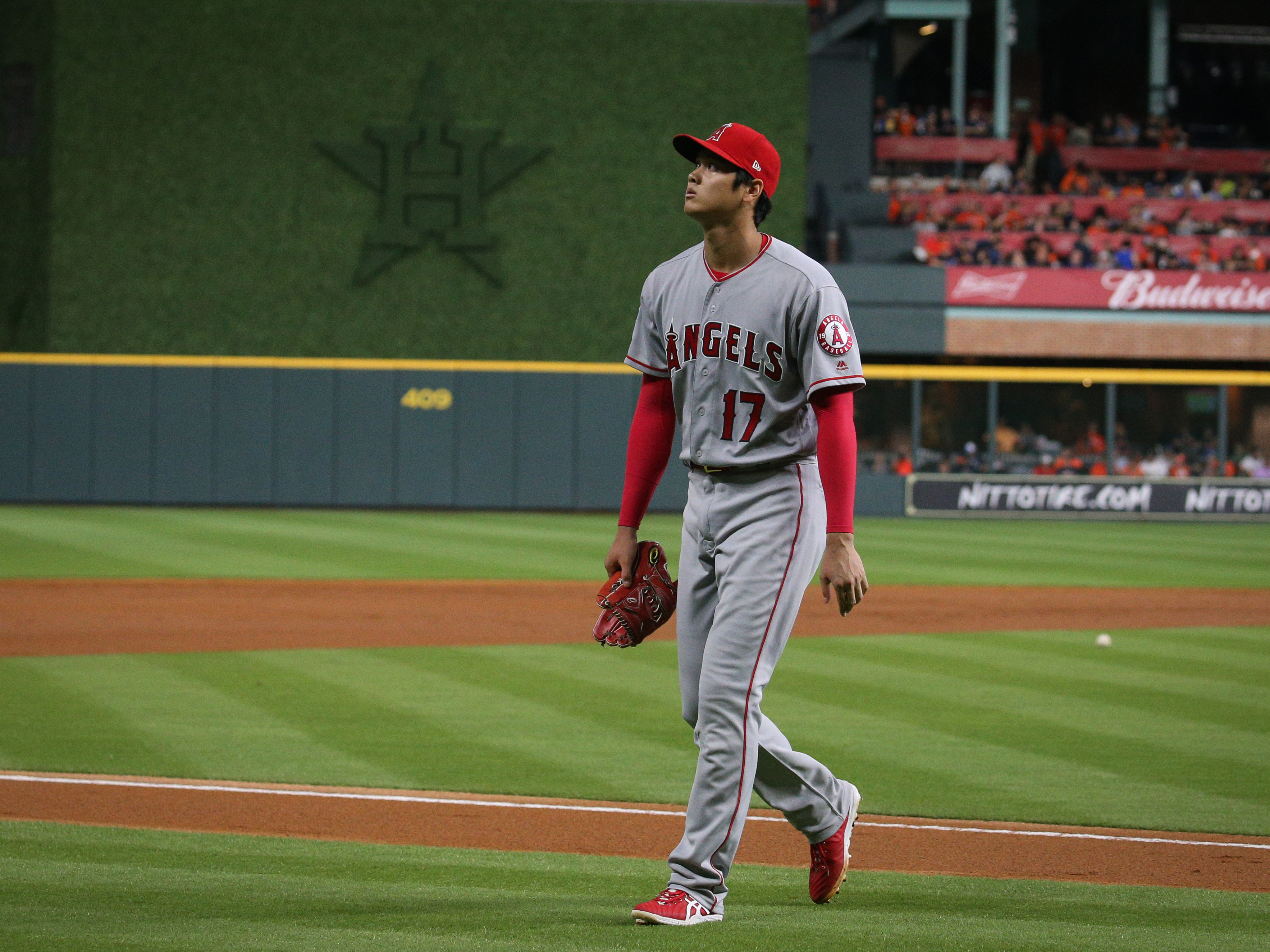 Los Angeles Angels v. Houston Astros