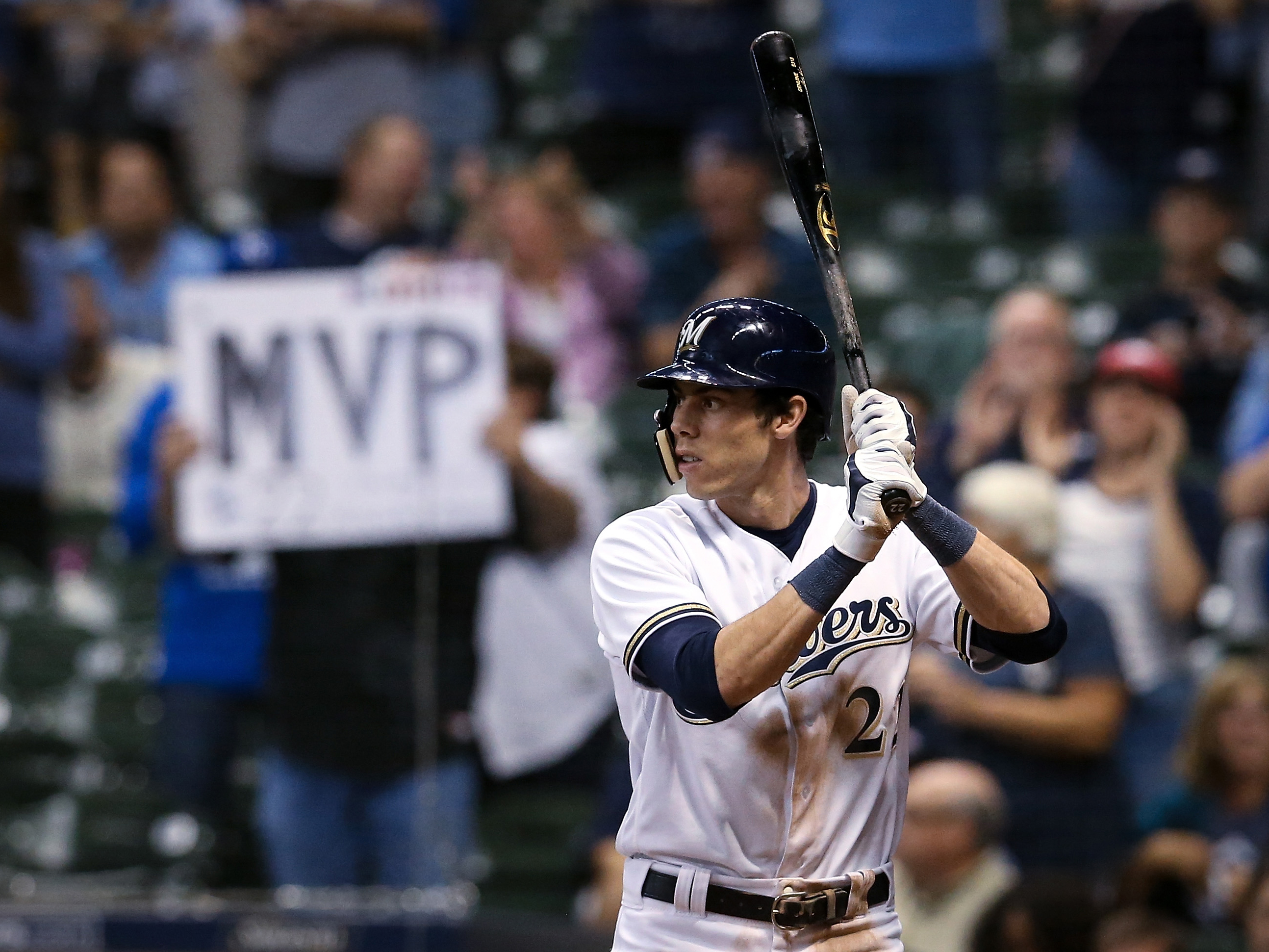 Christian Yelich Isn't Even Trying To Hit Home Runs ... Christian Yelich