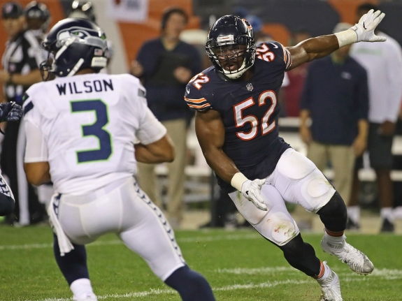 Seattle Seahawks v Chicago Bears