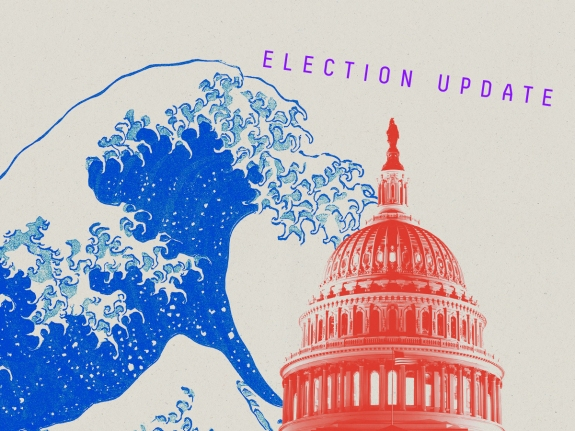 A Big Blue Wave Could Overwhelm The GOP's Advantage In The