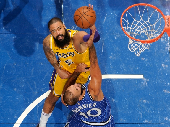 Most Players Grab Rebounds. Tyson Chandler Swats Them.