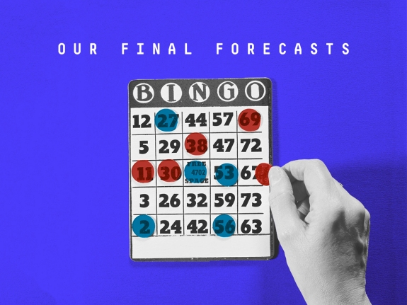Our Final Forecast In The Senate House And Gubernatorial Races
