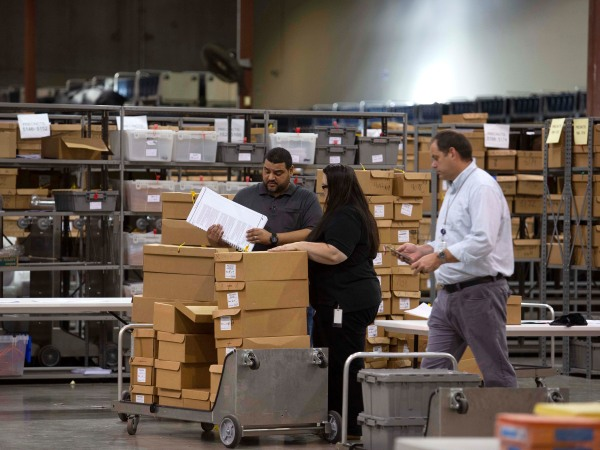 Midterm Election Ballots Still Being Counted In Palm Beach County, Florida