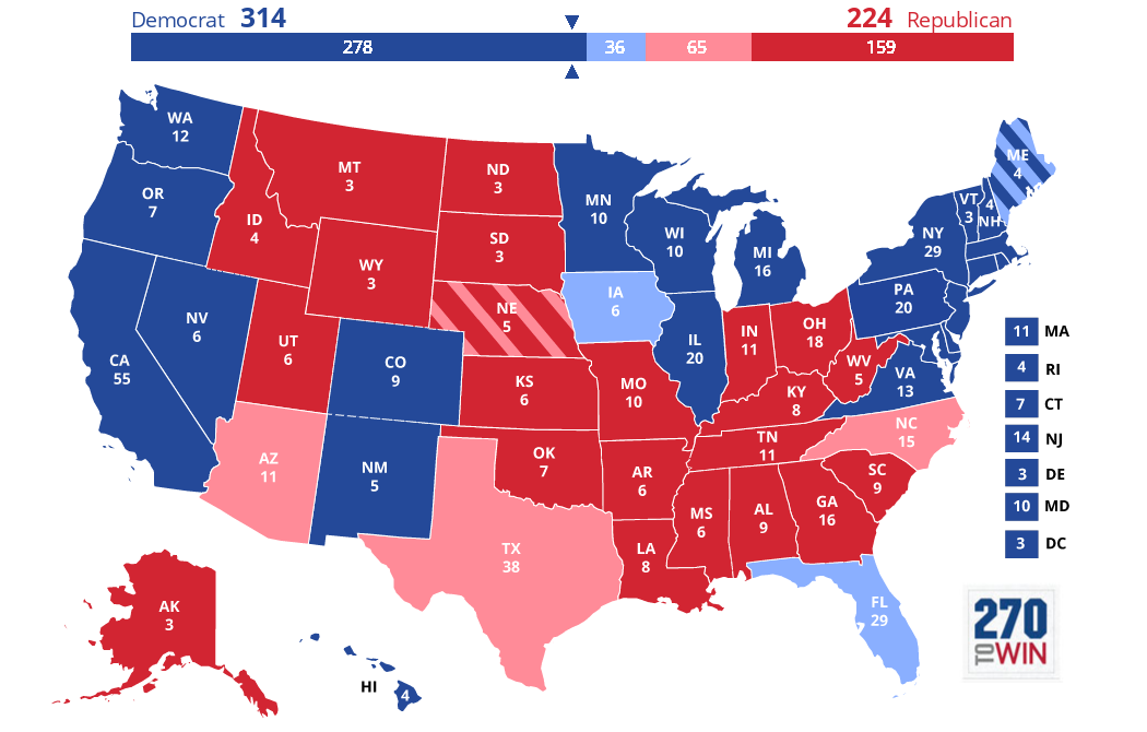 The 2018 Map Looked A Lot Like 2012 … And That Got Me Thinking About ...
