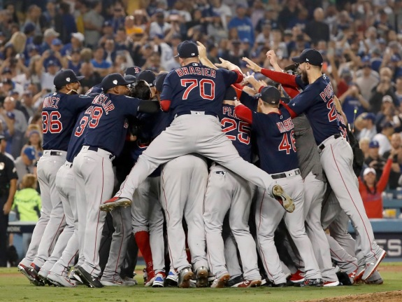 World Series – Boston Red Sox v Los Angeles Dodgers – Game Five