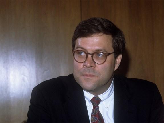 William Barr, Politiker, USA – Justizminister