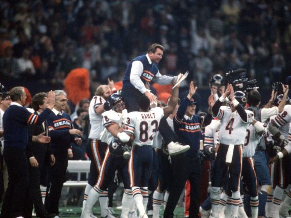 Super Bowl XX – Chicago Bears v New England Patriots