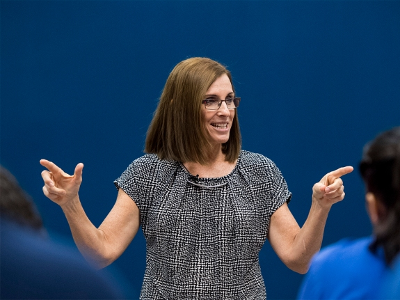 GOP candidate for Senate Rep. Martha McSally