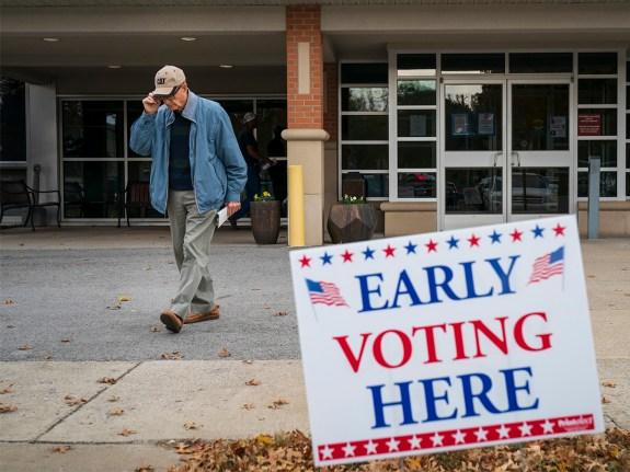GOP Senate Candidate Marsha Blackburn Campaigns In Franklin, Tennessee