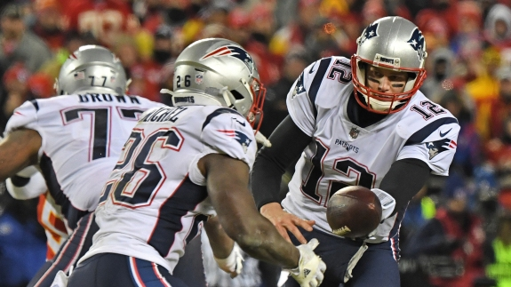 Move Over, Brady. The Patriots' Running Backs Are Stealing The Show.