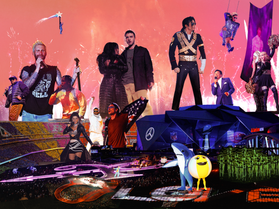 ca427f3dd 25 Years Of Super Bowl Halftime Show Lineups