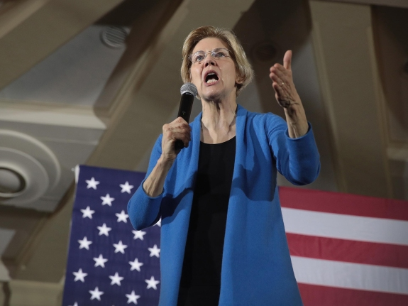 Senator Elizabeth Warren Holds Iowa Organizing Events For 2020 Presidential Race