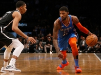 Oklahoma City Thunder v Brooklyn Nets