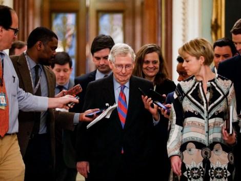 U.S.-WASHINGTON D.C.-SENATE MAJORITY LEADER-MITCH MCCONNELL