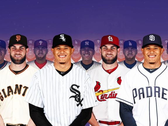 We Put Bryce Harper And Manny Machado On A Bunch Of Different Teams