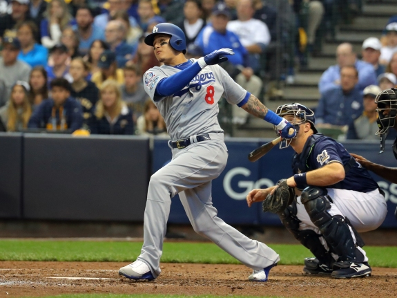 League Championship Series – Los Angeles Dodgers v Milwaukee Brewers – Game Two