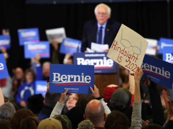Rally For U.S. Senator And Presidential Candidate Bernie Sanders