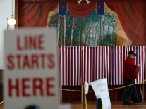 Voting In New Hampshire Primary Election